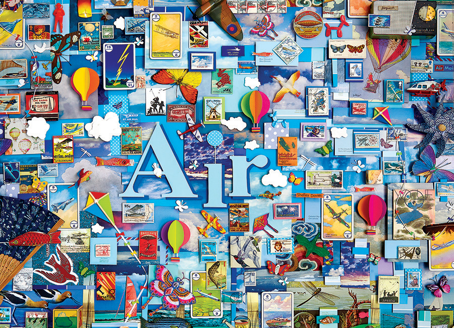 Air - 1000 pc puzzle - Cobble Hill Puzzle Co