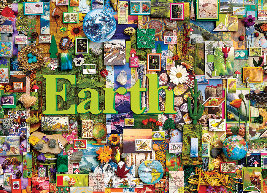 Earth - 1000 pc puzzle - Cobble Hill Puzzle Co