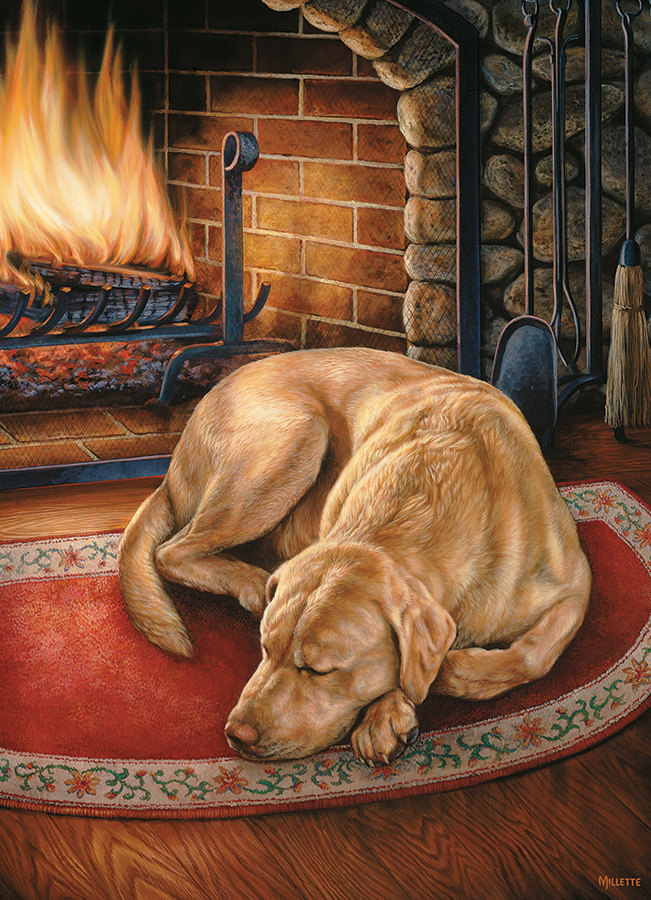 Home Is Where the Dog Is - 1000 pc puzzle - Cobble Hill Puzzle Co