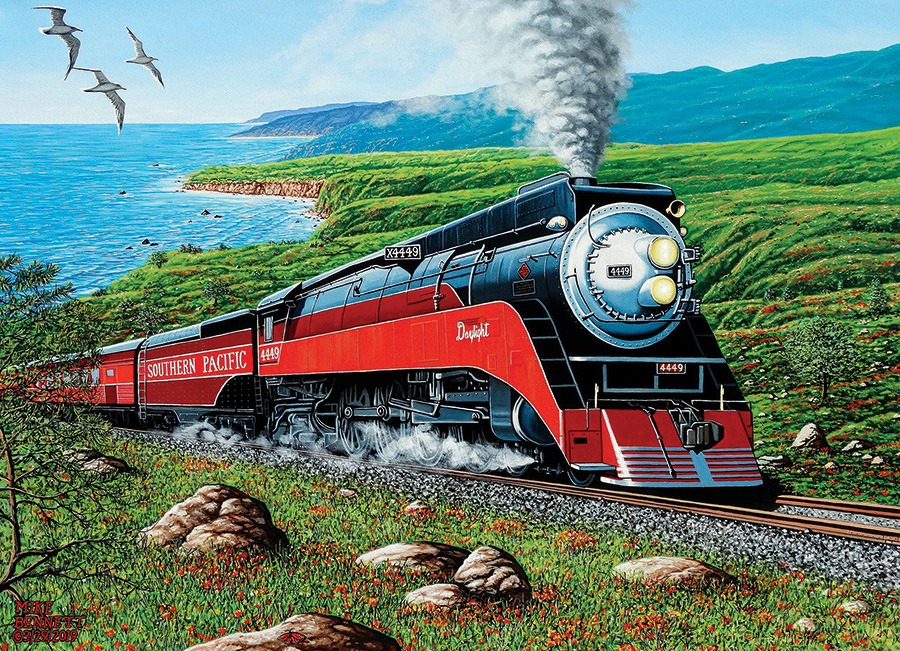 Southern Pacific 1000 piece puzzle by Cobble Hill