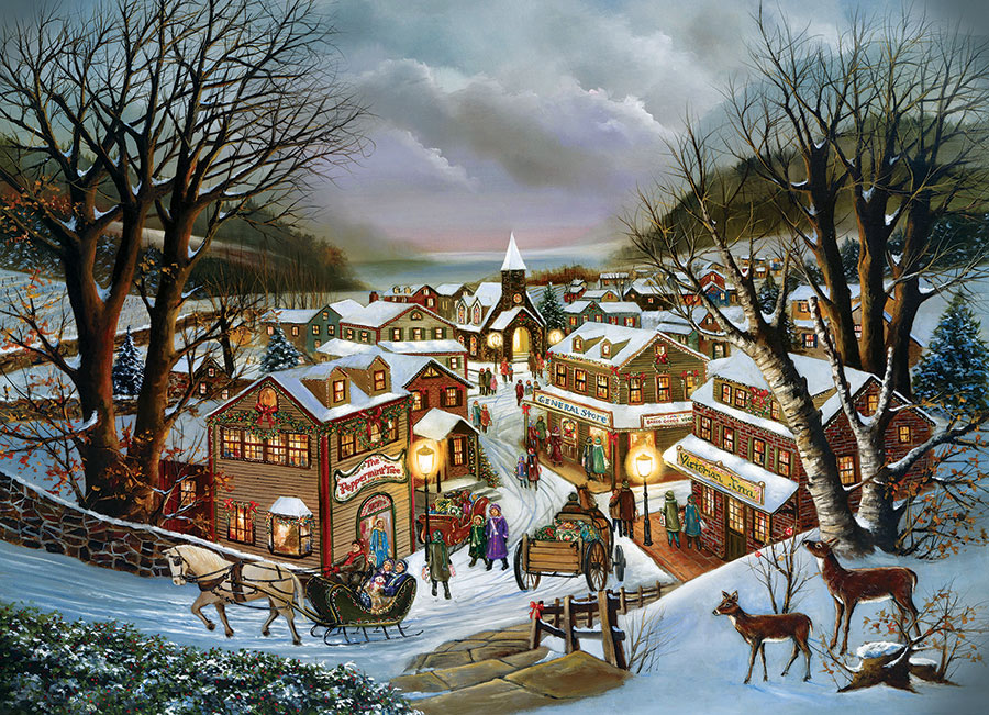I Remember Christmas Cobble Hill jigsaw puzzle 1000pc
