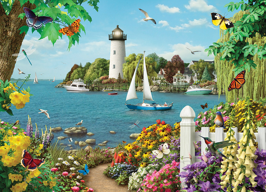 By the Bay 500 piece jigsaw puzzle by Cobble Hill