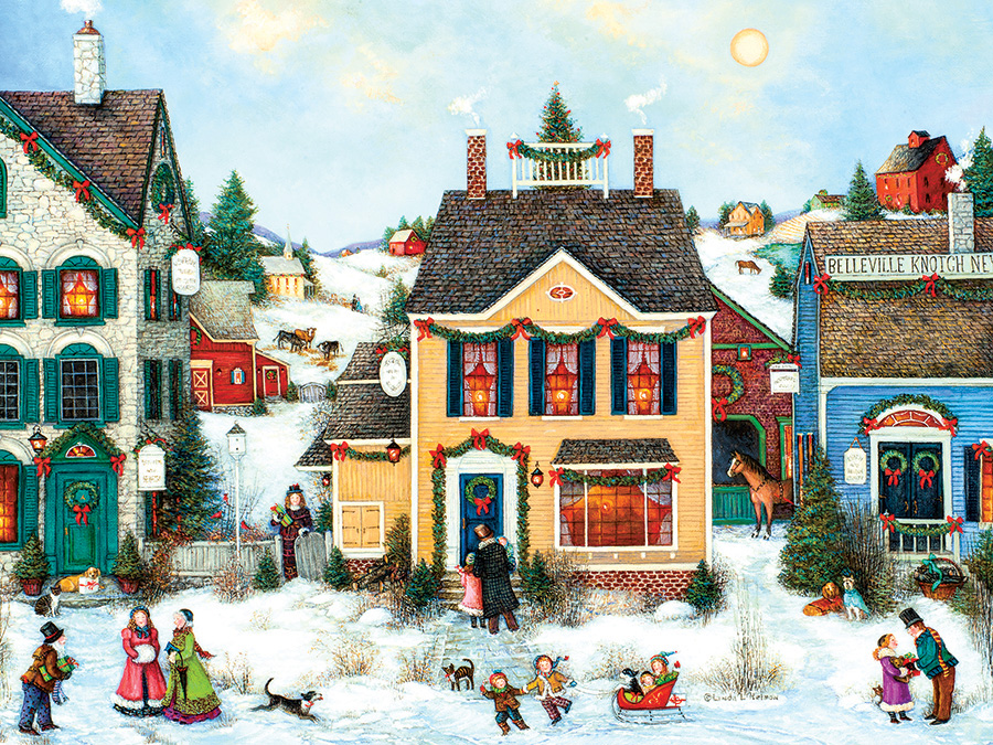 Christmas Town Eashttp://www.outsetmedia.com/sites/default/files/rgb-88002-christmas-town_0.jpgy Handling 275 Piece by Cobble Hill Puzzle Co