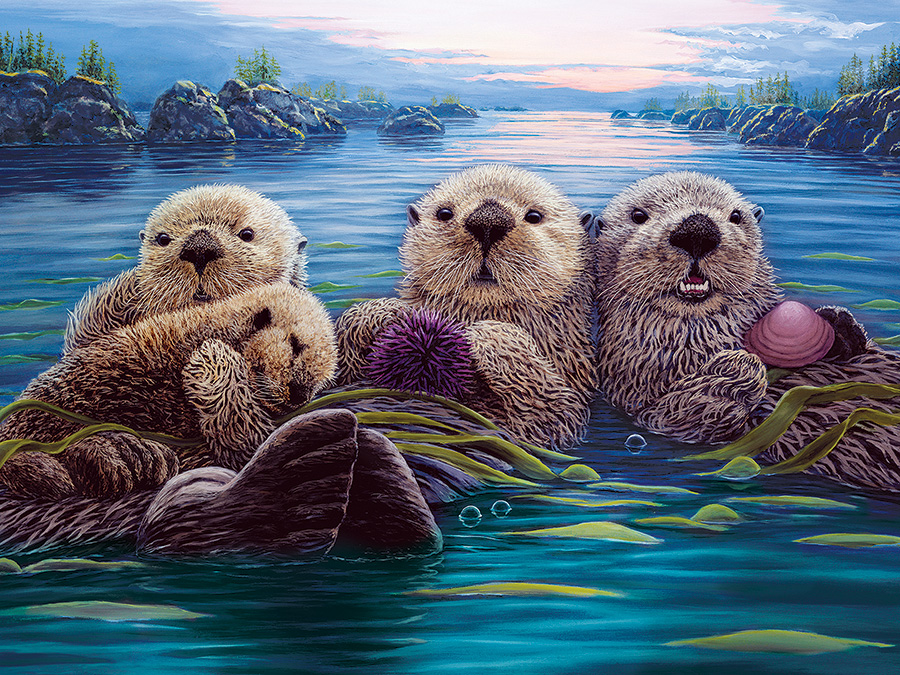 Treasures of the Sea Easy Handling 275 Piece by Cobble Hill Puzzle Co
