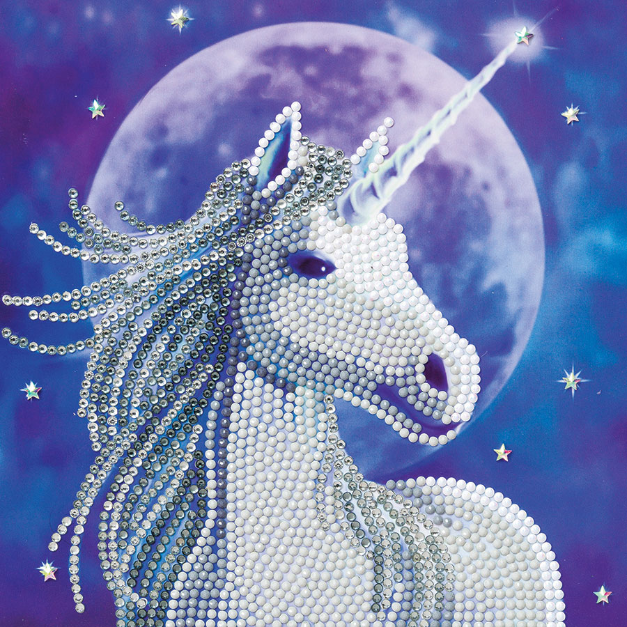Crystal Art Card Kit - Starlight distributed by Outset Media