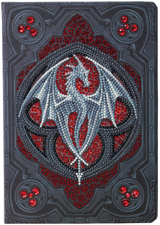 Crystal Art Notebook Kit Valour Alter Drake distributed by Outset Media