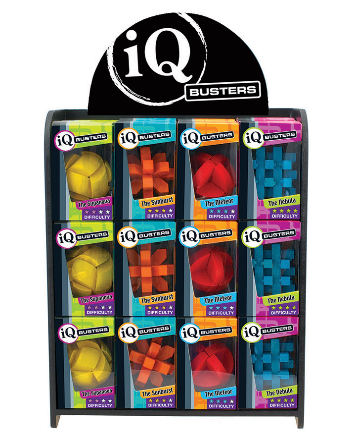 IQ Busters chroma brainteaser puzzles from Outset Media