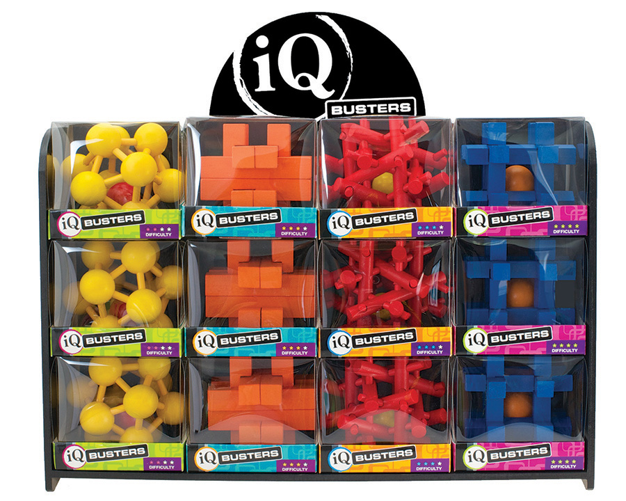 IQ Busters - ball traps brainteaser puzzles from Outset Media