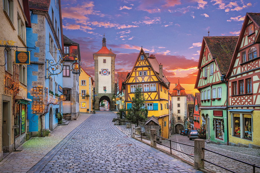 Rottenburg Germany D-Toys 1000 piece scenic puzzle