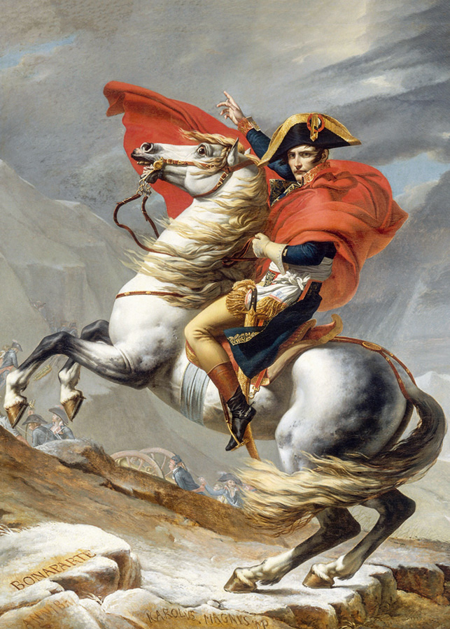 Napoleon Crossing the Alps (David) D-Toys 1000 piece puzzle from Outset Media