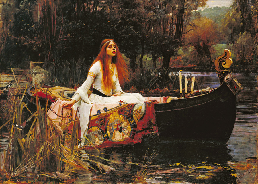 The Lady of Shalott (Waterhouse) D-Toys distributed by Outset Media