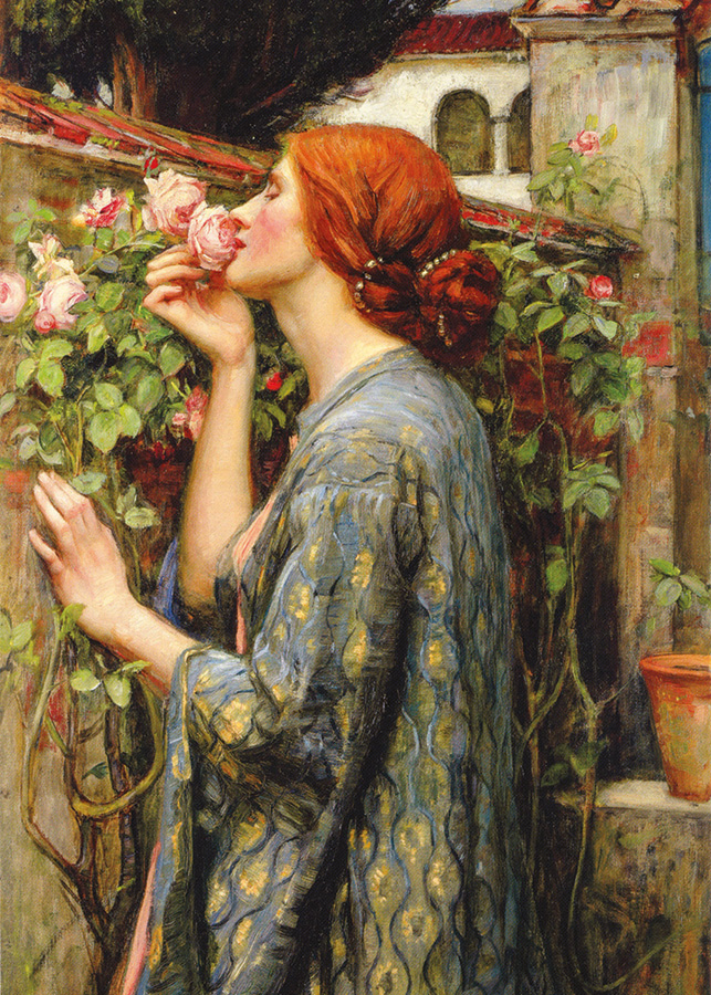 The Soul of the Rose (Waterhouse) D-Toys 1000 piece puzzle from Outset Media