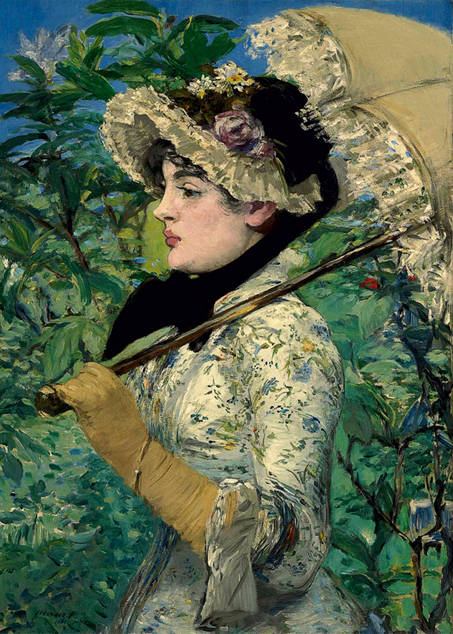 Spring by Edouard Manet - D-Toys 1000 piece puzzle from Outset Media