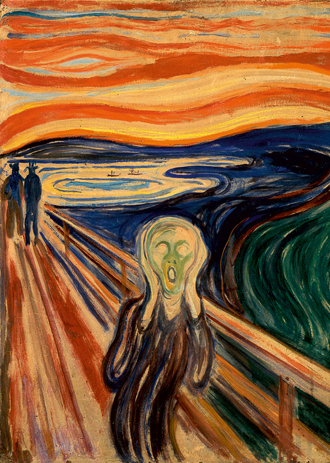 The Scream (Munch) - D-Toys 1000 piece puzzle from Outset Media