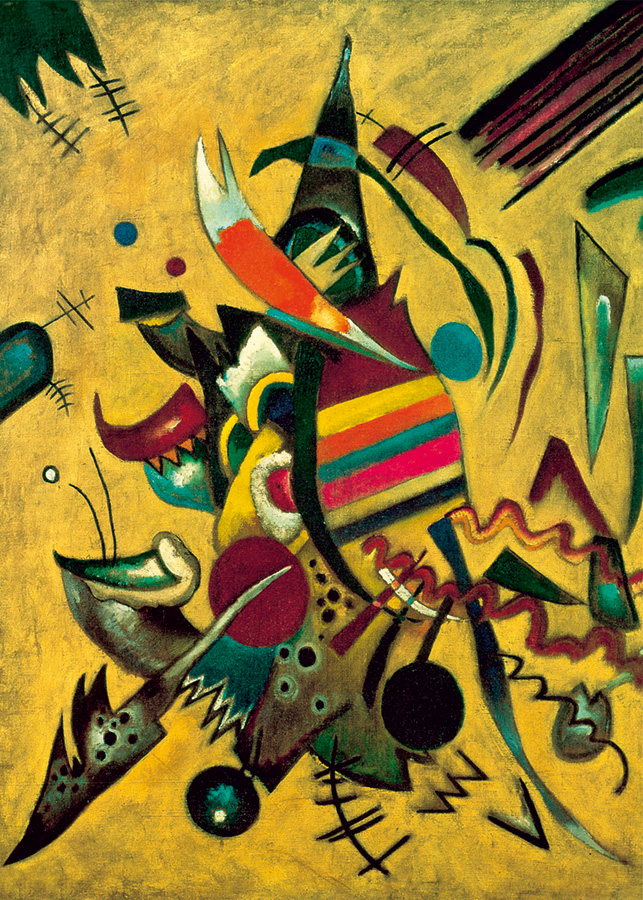 Points (Kandinsky) D-Toys 1000 piece puzzle from Outset Media