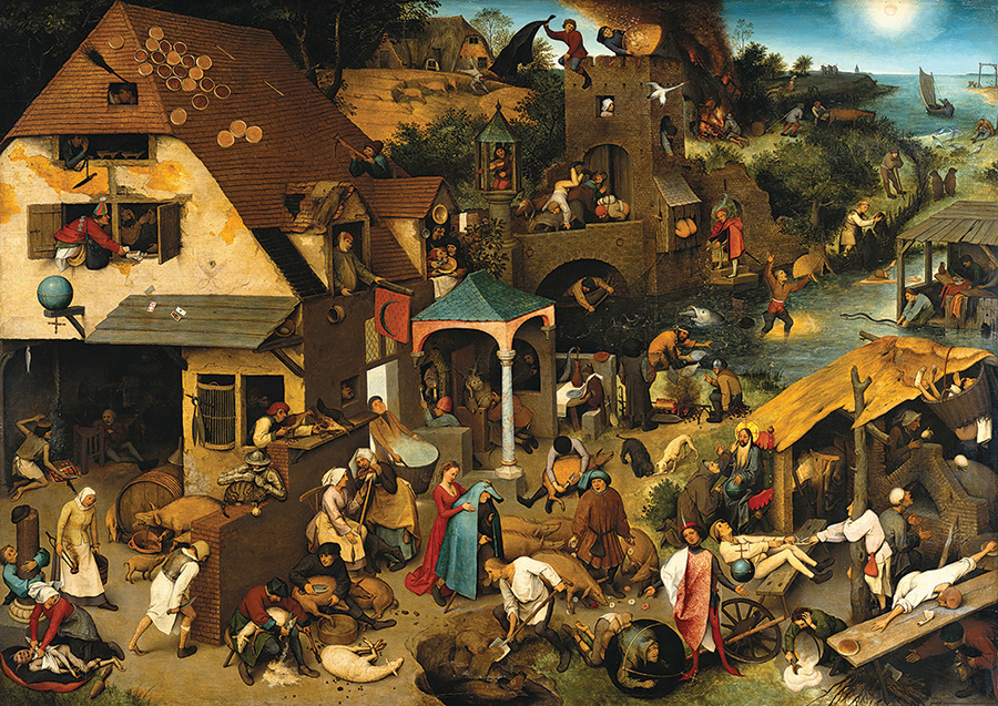 Netherlandish Proverbs D-Toys 1000 piece puzzles