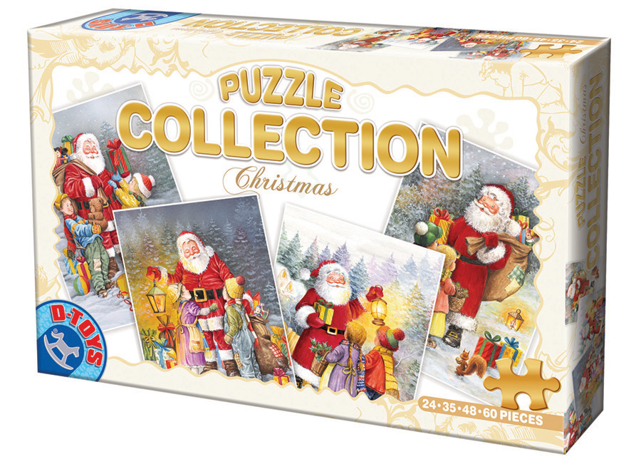 Christmas Collection D-Toys distributed by Outset Media