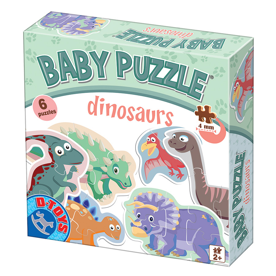 Dinosaurs baby puzzles from DToys