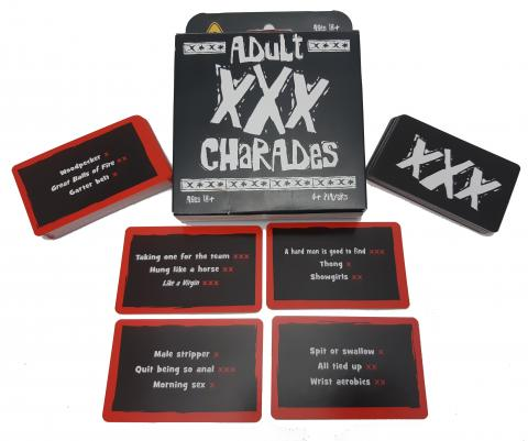 Adult XXX Charades Card Game