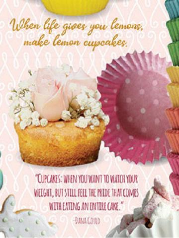 Cupcake Time puzzle quote
