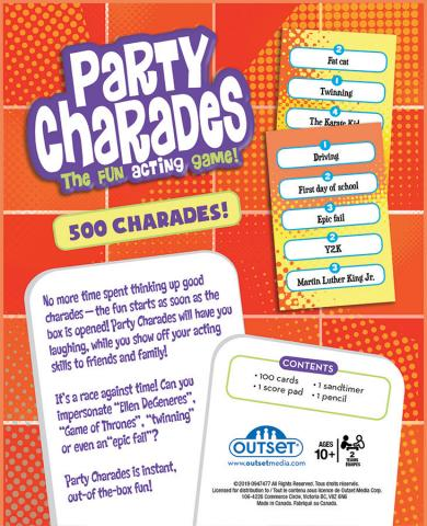Part Charades by Outset Media