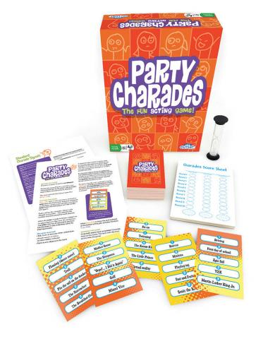 Party Charades layout by Outset Media