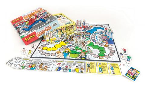Running Round Riverdale board game by Outset Media