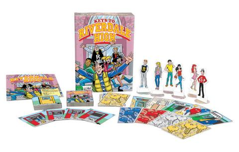 Keys to Riverdale High tile game by Outset based on Archie Comics
