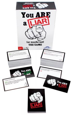 You Are a Liar by Outset Media party game