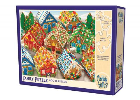 Gingerbread Houses jigsaw | 400 puzzle