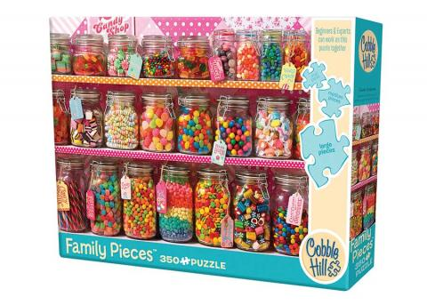 Candy Counter Family Piece 350 puzzle by Cobble Hill