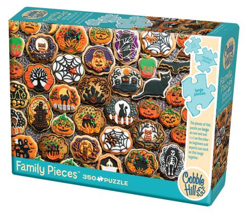 Halloween Cookies 350 Family Piece puzzle by Cobble Hill