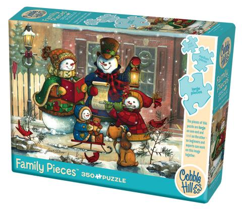 Song for the Season 350 Family Piece puzzle by Cobble Hill