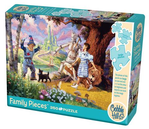The Wizard of Oz 350 Family Piece puzzle by Cobble Hill