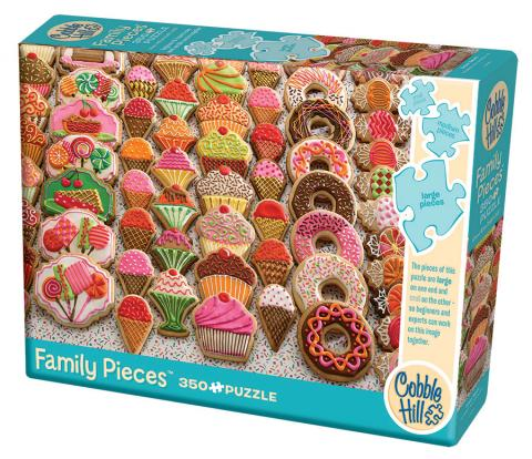Sweet Treats (Family) 350 Family Piece puzzle by Cobble Hill