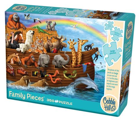 Voyage of the Ark (Family) 350 Family Piece puzzle by Cobble Hill