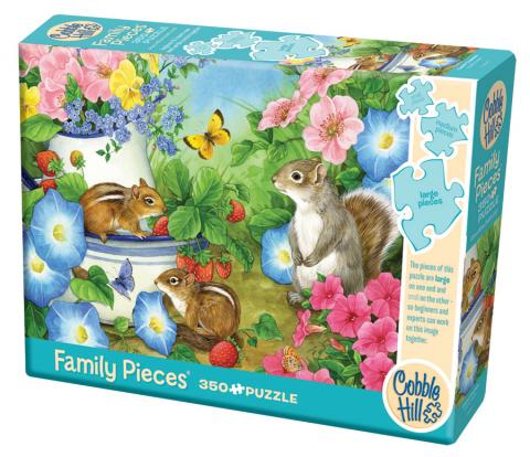 Chippy Chappies (Family) 350 piece - Cobble Hill - winter puzzle