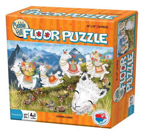 Leaping Llamas by Cobble Hill Puzzle Co