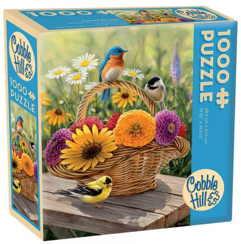 Summer Bouquet jigsaw | 275 pieces package