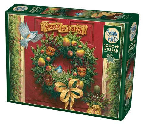 Peace on Earth 1000 piece Cobble Hill puzzle