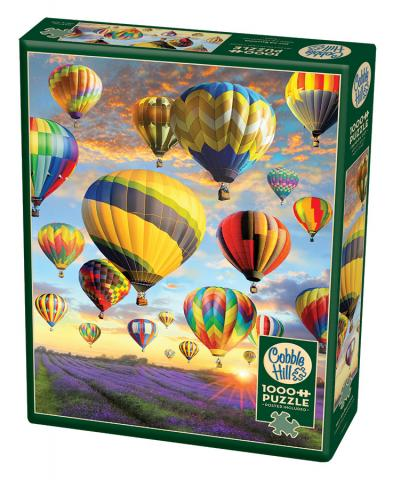 Hot Air Balloons 1000 piece Cobble Hill puzzle