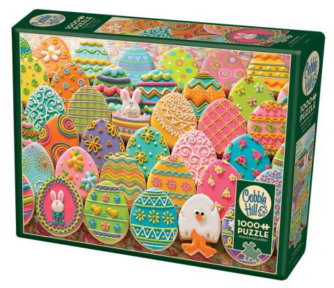 Easter Eggs Cobble Hill Puzzle Co - 1000 piece