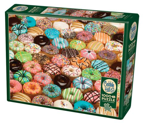 Best Sellers Puzzles | Doughnuts | 1000 piece by Cobble Hill Puzzles