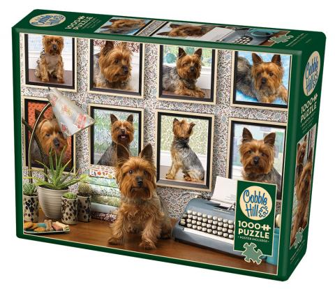 Yorkies Are My Type 1000 piece Cobble Hill puzzle