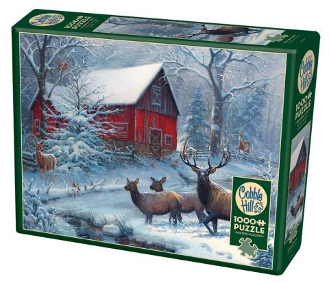 Winter Magic Cobble Hill Puzzle Co - 1000 piece