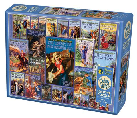 Vintage Nancy Drew 1000 piece puzzle by Cobble Hill