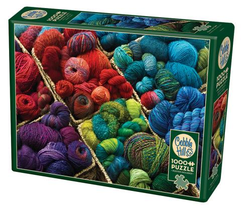 Plenty of Yarn 1000 piece jigsaw puzzle TOP Puzzle