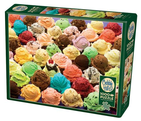 Ice Cream 1000 piece top jigsaw puzzles TOP Puzzle