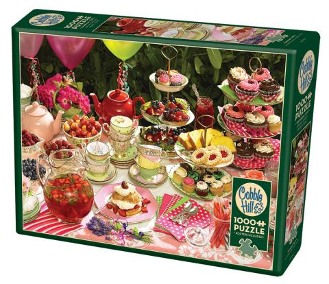 Garden Party - 1000 piece Cobble Hill Puzzle Co - photo jigsaw