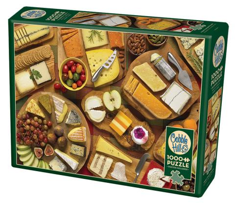 More Cheese Please 1000 piece Cobble Hill Puzzle Co photo jigsaw